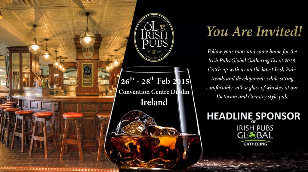Irish Pubs Global Gathering Event